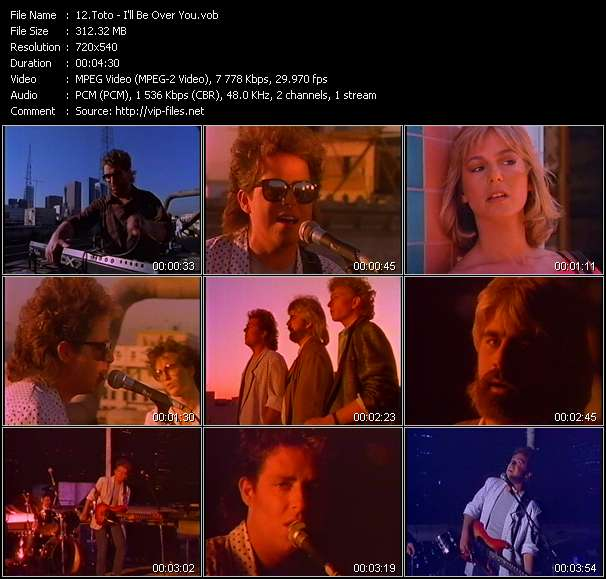 Toto - I'll Be Over You