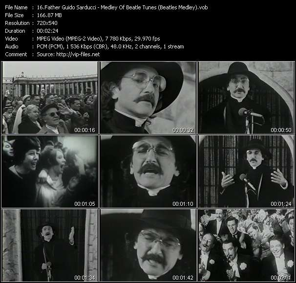 Father Guido Sarducci - Medley Of Beatle Tunes (Beatles Medley)