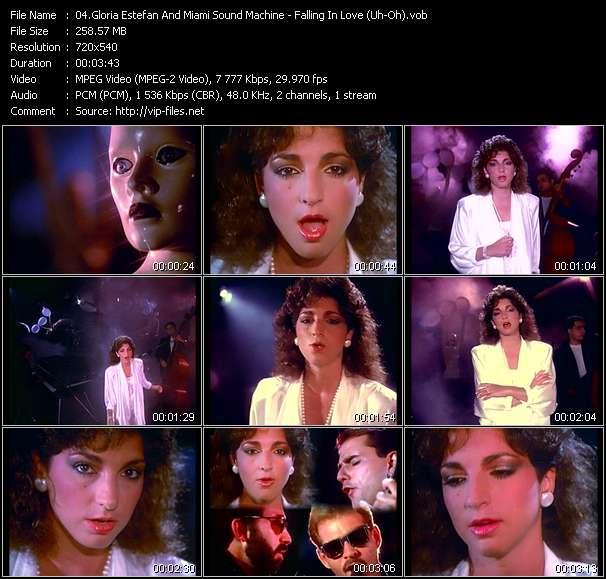 Gloria Estefan And Miami Sound Machine - Falling In Love (Uh-Oh)