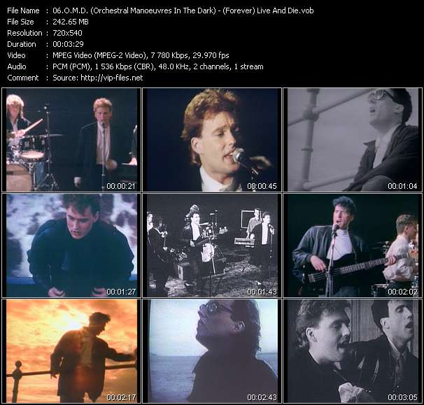 O.M.D. (Orchestral Manoeuvres In The Dark) - (Forever) Live And Die