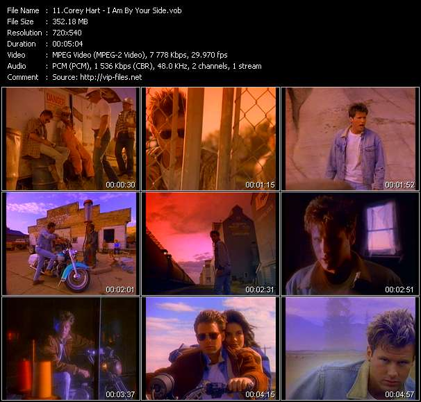 Corey Hart - I Am By Your Side