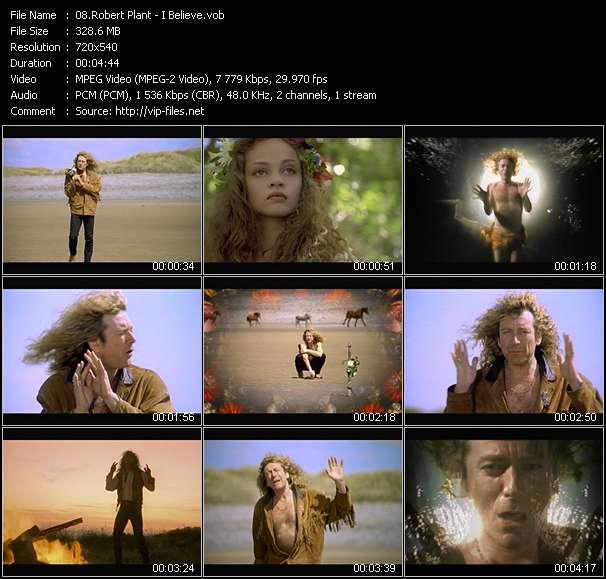 Robert Plant - I Believe