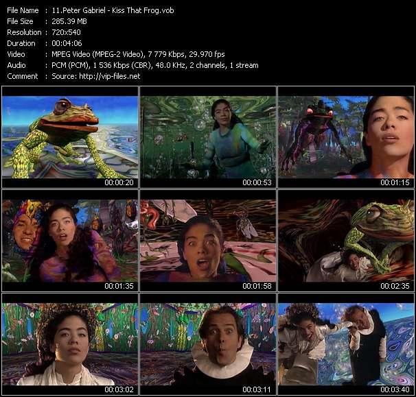Peter Gabriel - Kiss That Frog