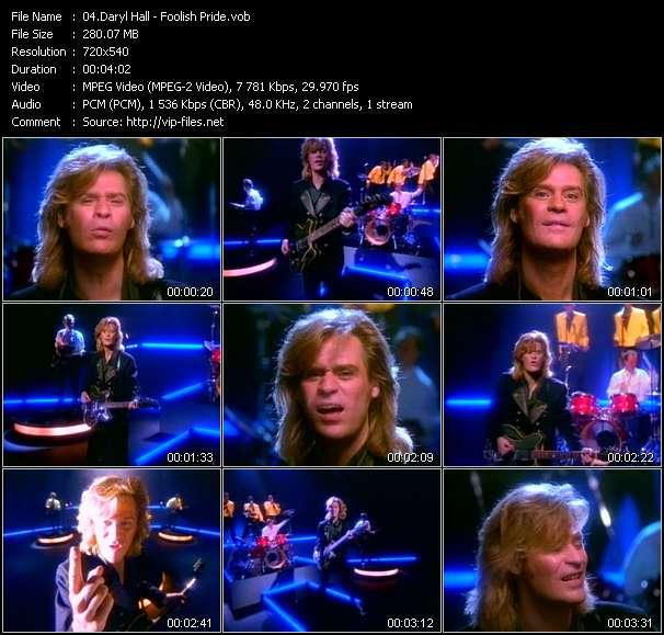 Daryl Hall - Foolish Pride