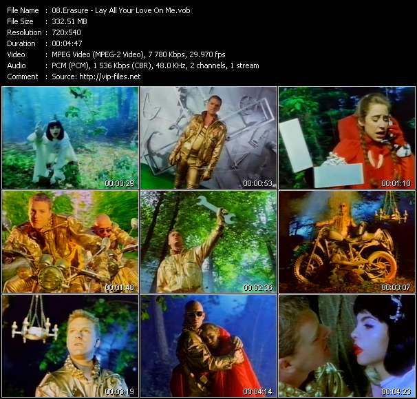 Erasure - Lay All Your Love On Me
