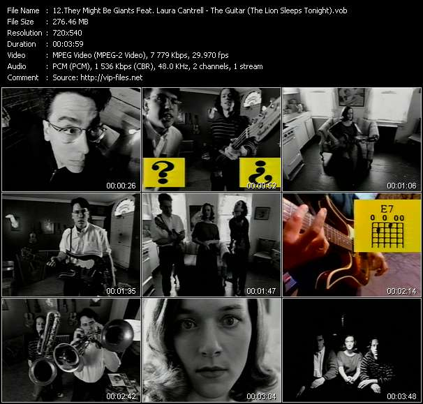 They Might Be Giants Feat. Laura Cantrell - The Guitar (The Lion Sleeps Tonight)