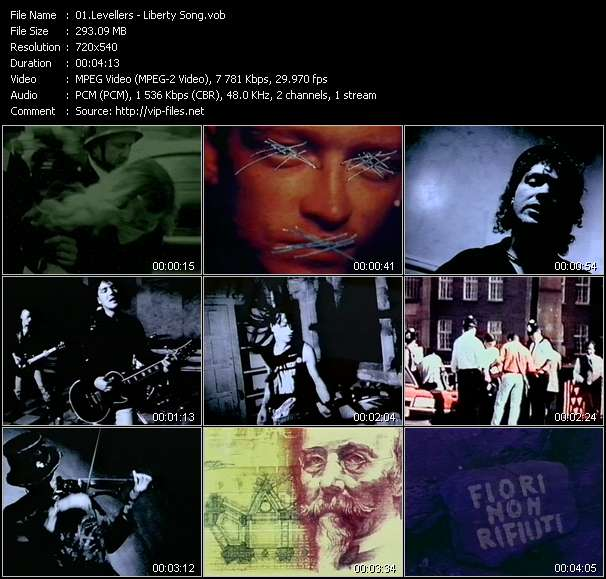 Levellers - Liberty Song
