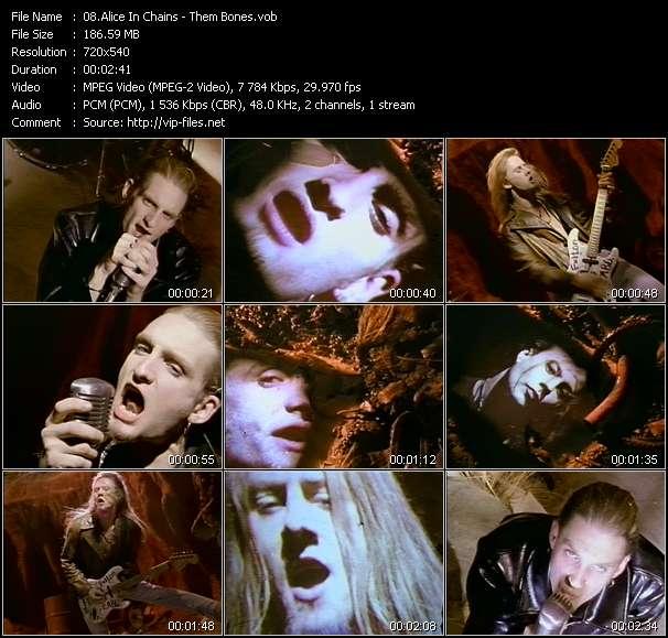 Alice In Chains - Them Bones