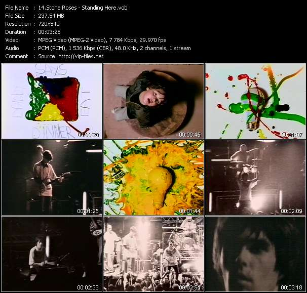 Stone Roses - Standing Here