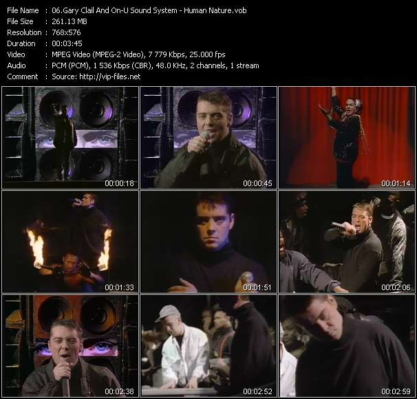 Gary Clail And On-U Sound System - Human Nature