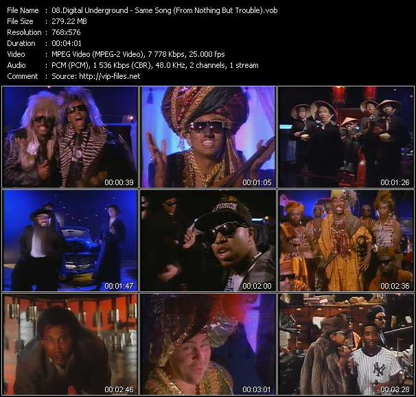 """Digital Underground - Same Song (From """"Nothing But Trouble"""")"""