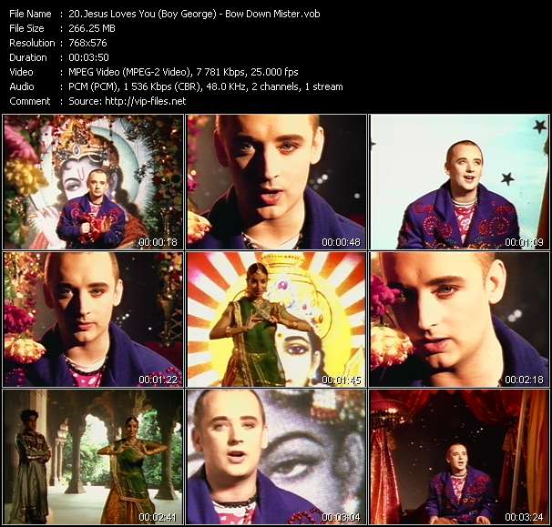 Jesus Loves You (Boy George) - Bow Down Mister