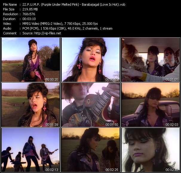 P.U.M.P. (Purple Under Melted Pink) - Barabajagal (Love Is Hot)