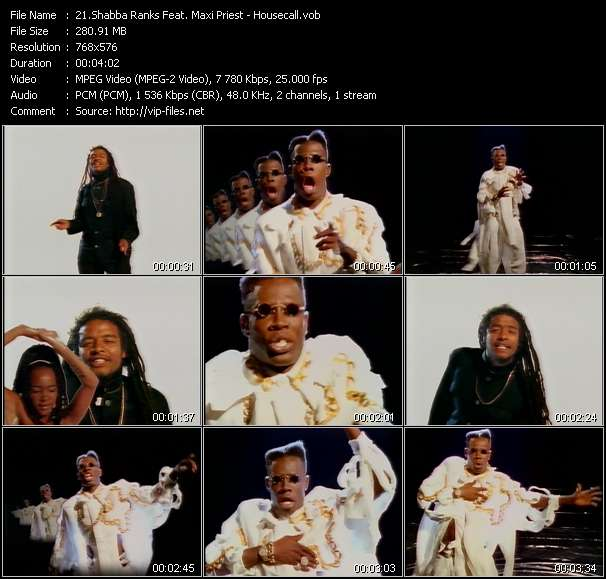Shabba Ranks Feat. Maxi Priest - Housecall