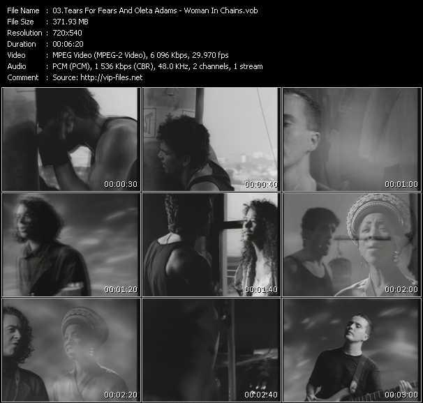 Tears For Fears And Oleta Adams - Woman In Chains