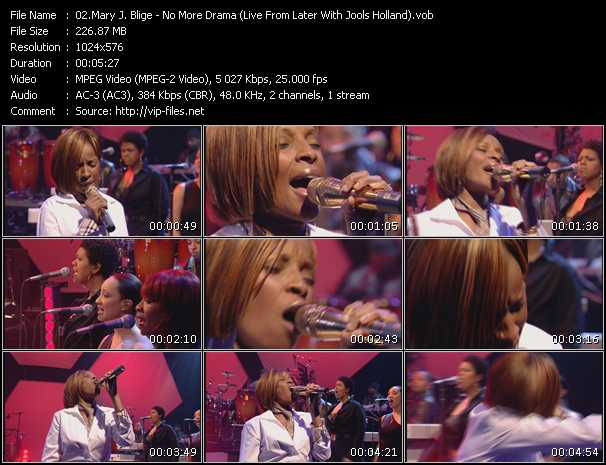 Mary J. Blige - No More Drama (Live From Later With Jools Holland)