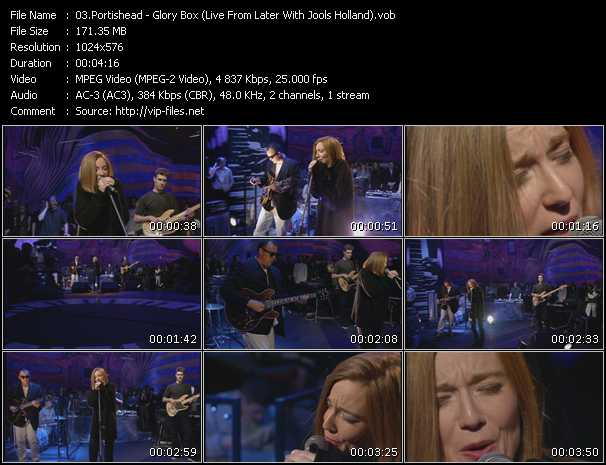 Portishead - Glory Box (Live From Later With Jools Holland)