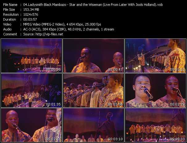 Ladysmith Black Mambazo - Star And The Wiseman (Live From Later With Jools Holland)