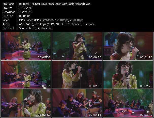 Bjork - Hunter (Live From Later With Jools Holland)