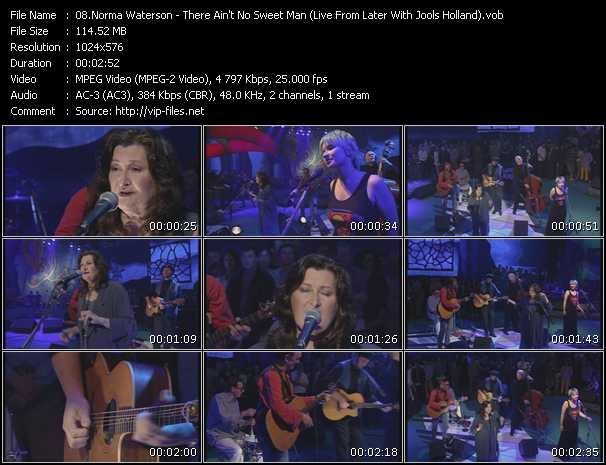 Norma Waterson - There Ain't No Sweet Man (Live From Later With Jools Holland)