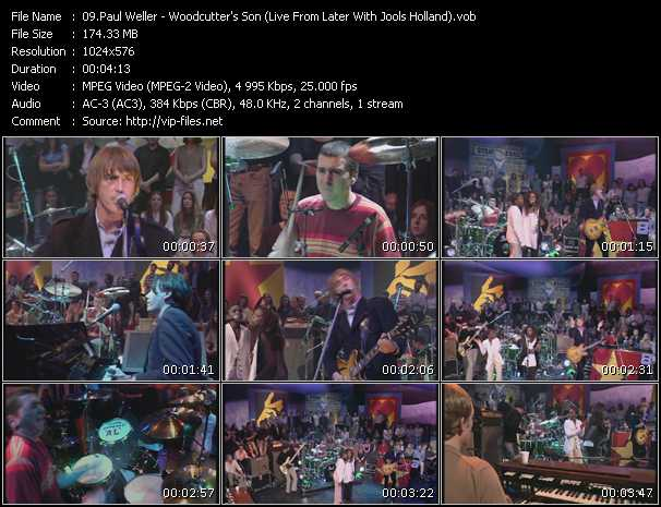 Paul Weller - Woodcutter's Son (Live From Later With Jools Holland)