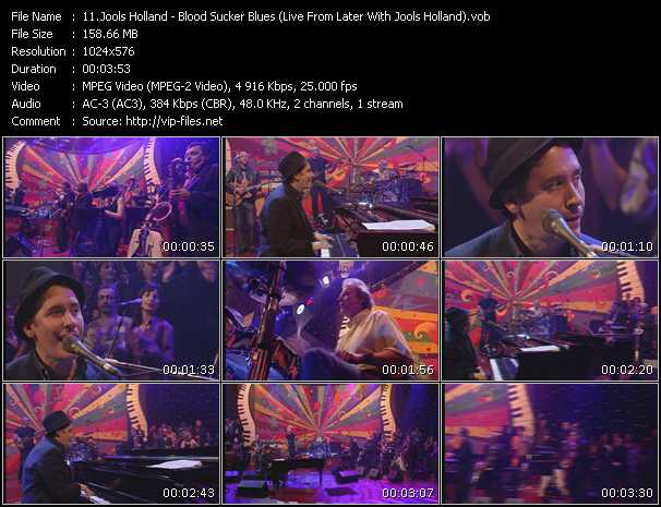Jools Holland - Blood Sucker Blues (Live From Later With Jools Holland)