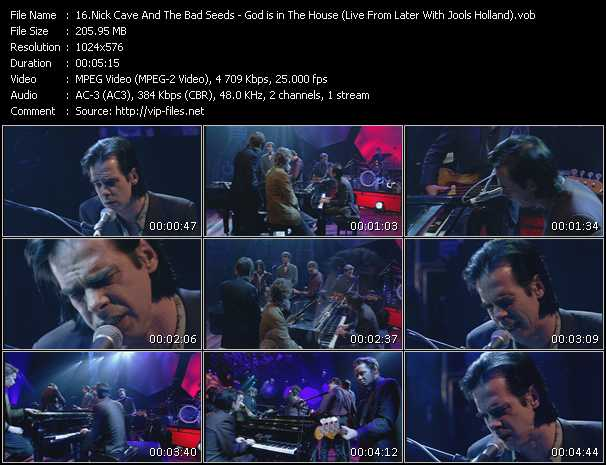 Nick Cave And The Bad Seeds - God Is In The House (Live From Later With Jools Holland)