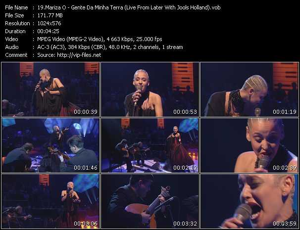 Mariza O - Gente Da Minha Terra (Live From Later With Jools Holland)