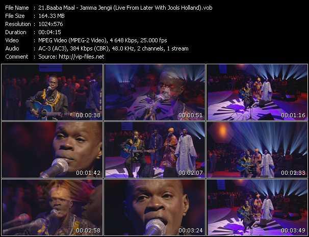 Baaba Maal - Jamma Jengii (Live From Later With Jools Holland)