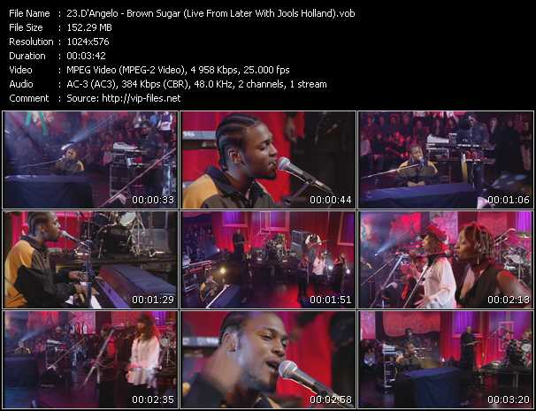 D'Angelo - Brown Sugar (Live From Later With Jools Holland)