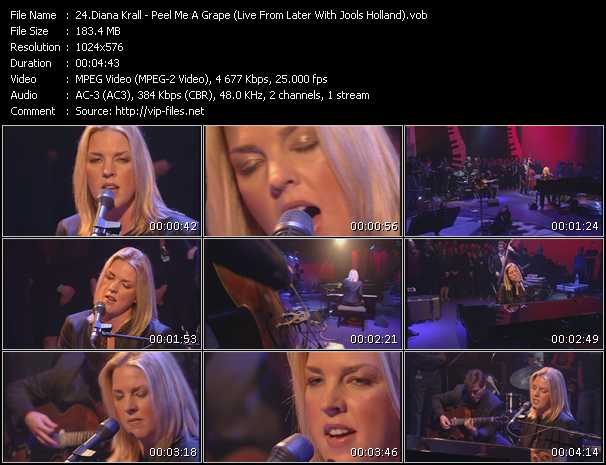 Diana Krall - Peel Me A Grape (Live From Later With Jools Holland)