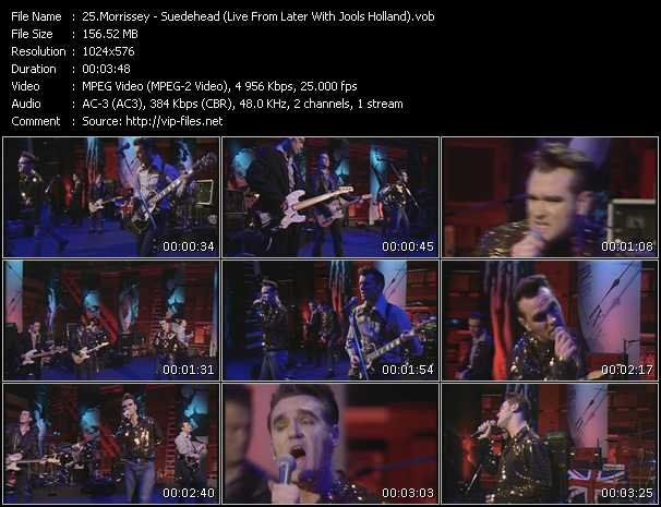 Morrissey - Suedehead (Live From Later With Jools Holland)