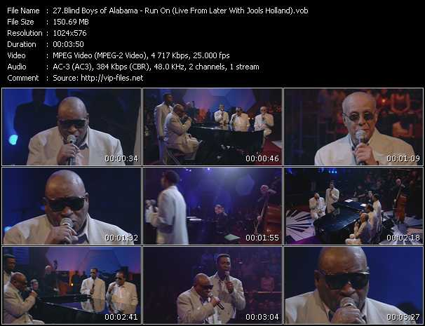 Blind Boys Of Alabama - Run On (Live From Later With Jools Holland)