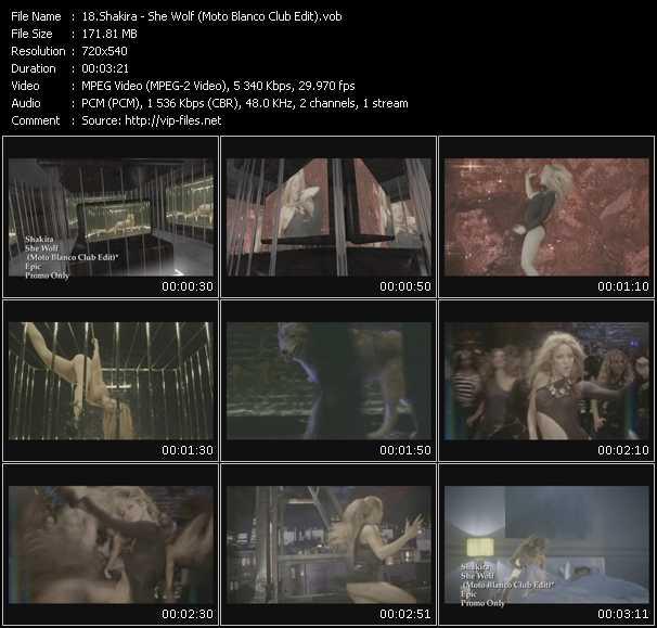 Shakira - She Wolf (Moto Blanco Club Edit)