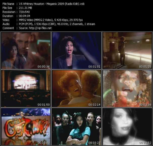 Whitney Houston - Megamix 2009 (Radio Edit)