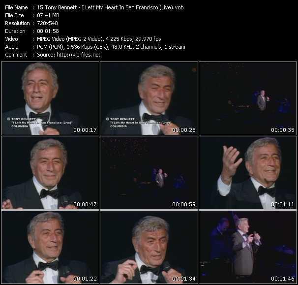 Tony Bennett - I Left My Heart In San Francisco (Live)