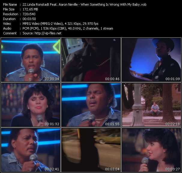 Linda Ronstadt Feat. Aaron Neville - When Something Is Wrong With My Baby