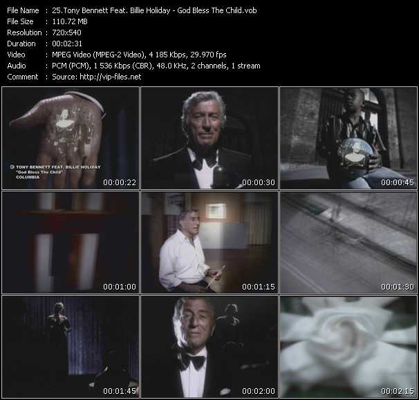 Tony Bennett Feat. Billie Holiday - God Bless The Child