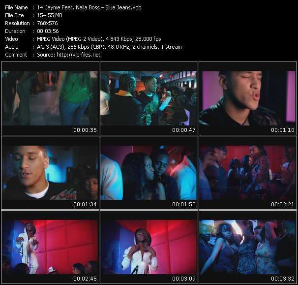 Jayme Feat. Naila Boss - Blue Jeans