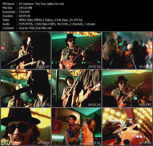 Santana - Put Your Lights On