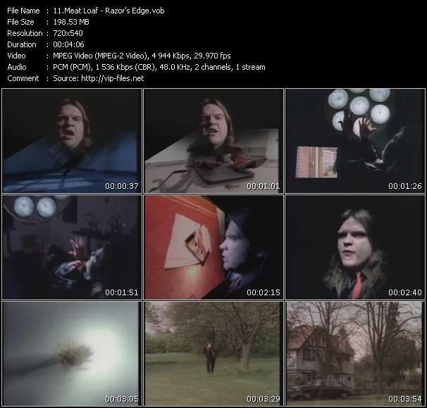 Meat Loaf - Razor's Edge