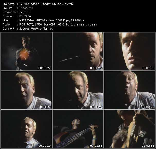 Mike Oldfield - Shadow On The Wall