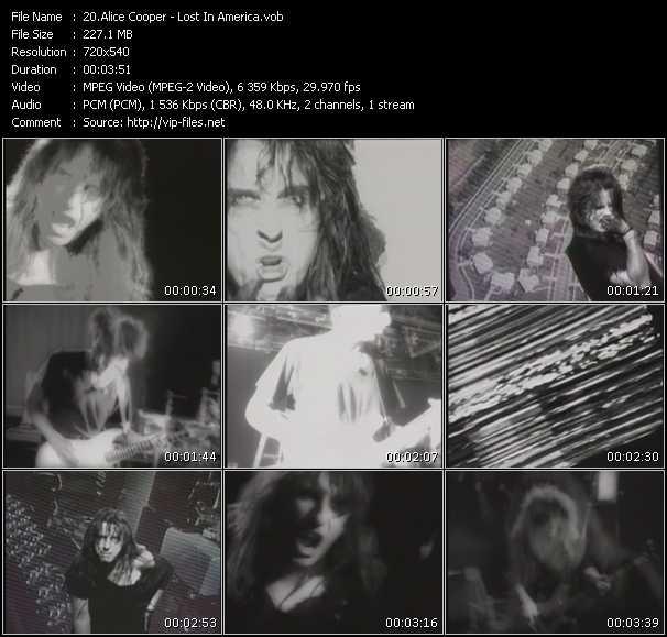 Alice Cooper - Lost In America