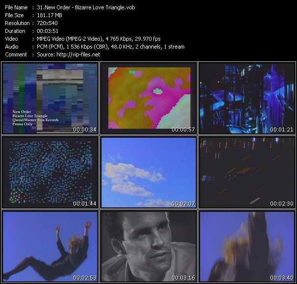 New Order - Bizarre Love Triangle