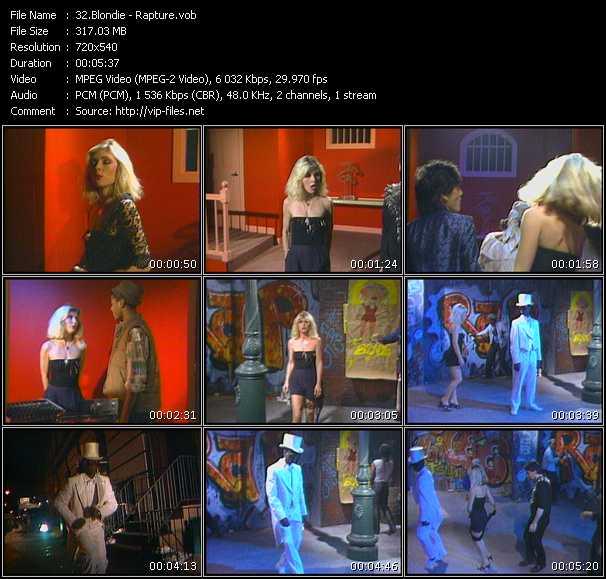 Blondie - Rapture (Extended Version)