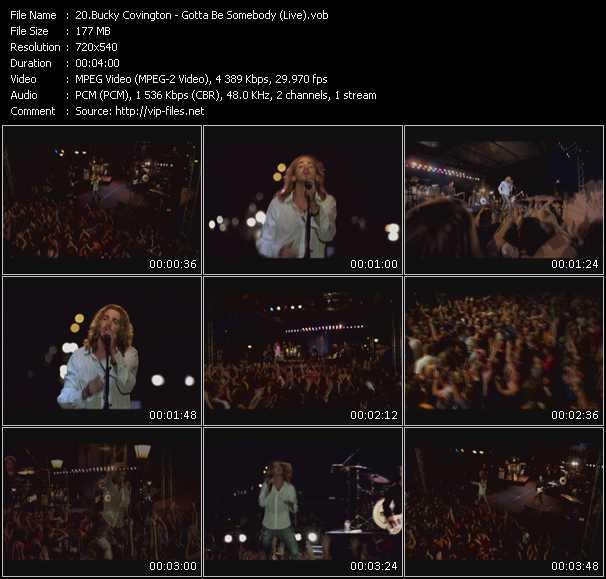 Bucky Covington - Gotta Be Somebody (Live)
