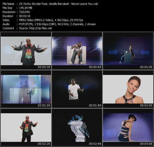 Tinchy Stryder Feat. Amelle Berrabah - Never Leave You