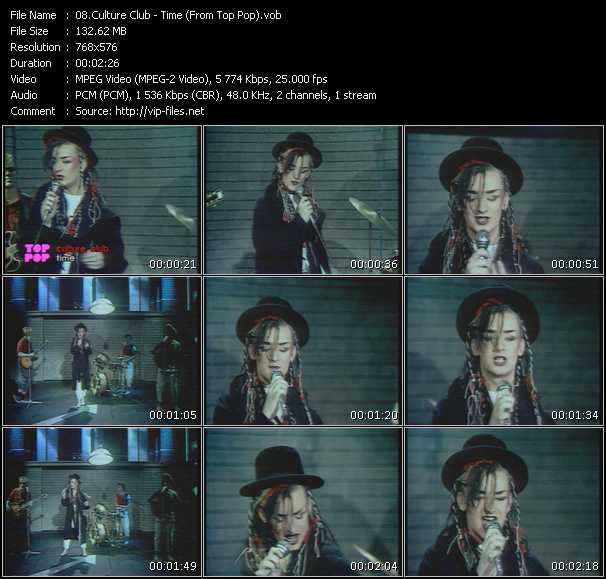 Culture Club - Time (From Top Pop)