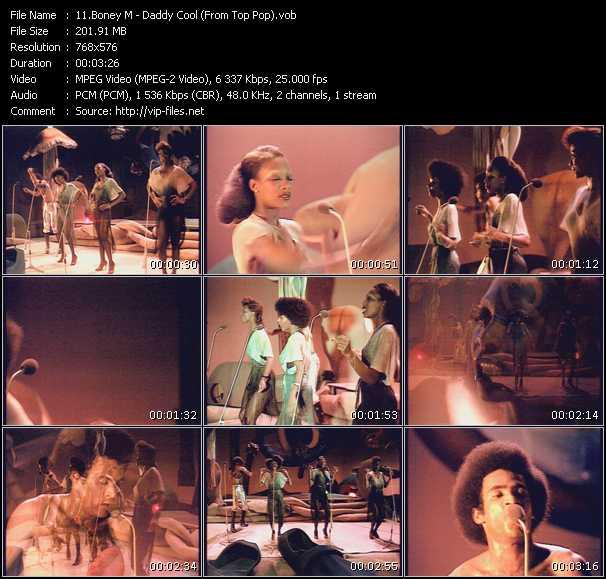 Boney M. - Daddy Cool (From Top Pop)