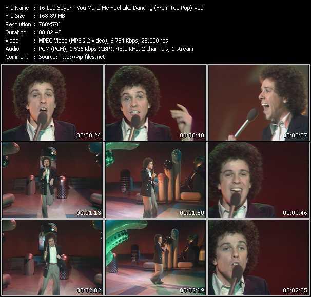 Leo Sayer - You Make Me Feel Like Dancing (From Top Pop)